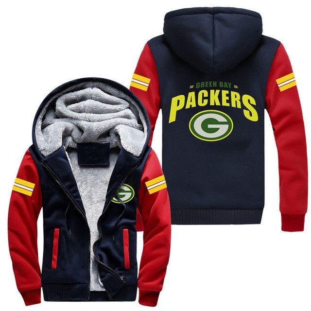Green Bay Packers Hoodie Jacket