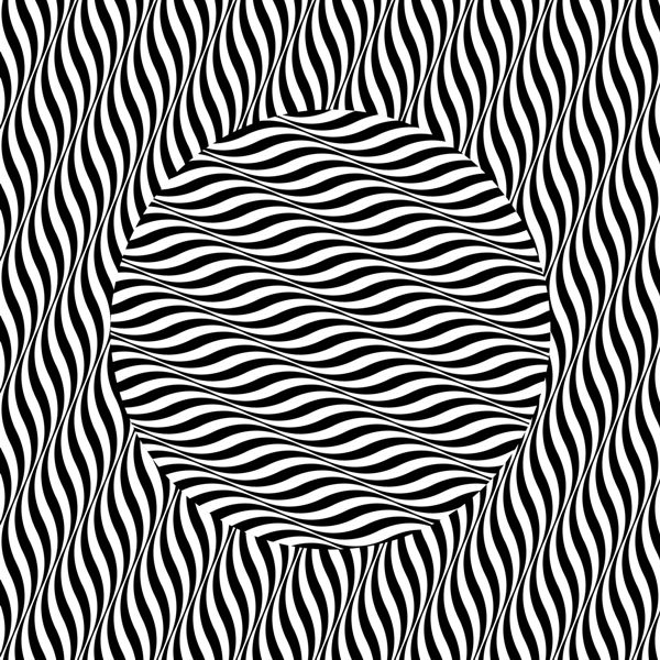look at the center of it its moving