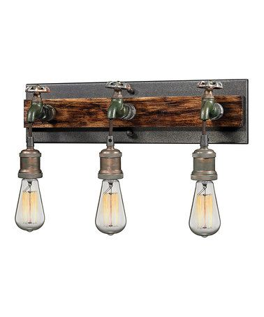 Another great find on #zulily! Jonas Three-Light Bracket Wall Lamp #zulilyfinds