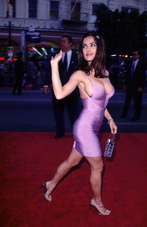 Salma sexy dress actors actresses pinterest salma hayek sexy dresses and hot dress