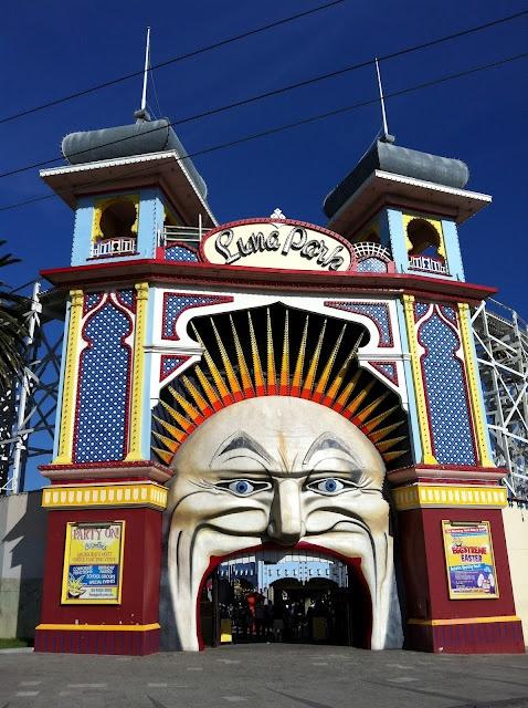 Luna Park, Melbourne, Australia.