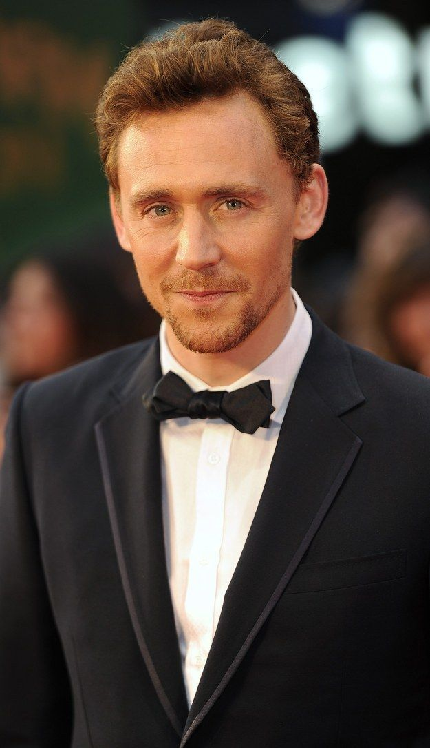 Because he makes ginger look so damn good. | 49 Reasons Tom Hiddleston Will Ruin You For Life