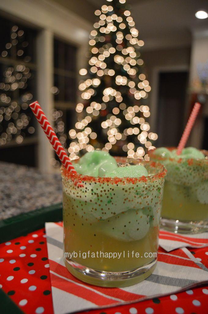 Grinch Drink #Christmas | mybigfathappylife.com