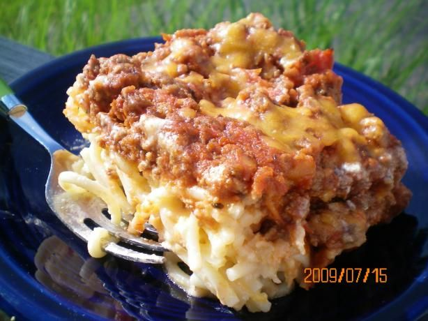 Spasagna....Cheddars' recipe!