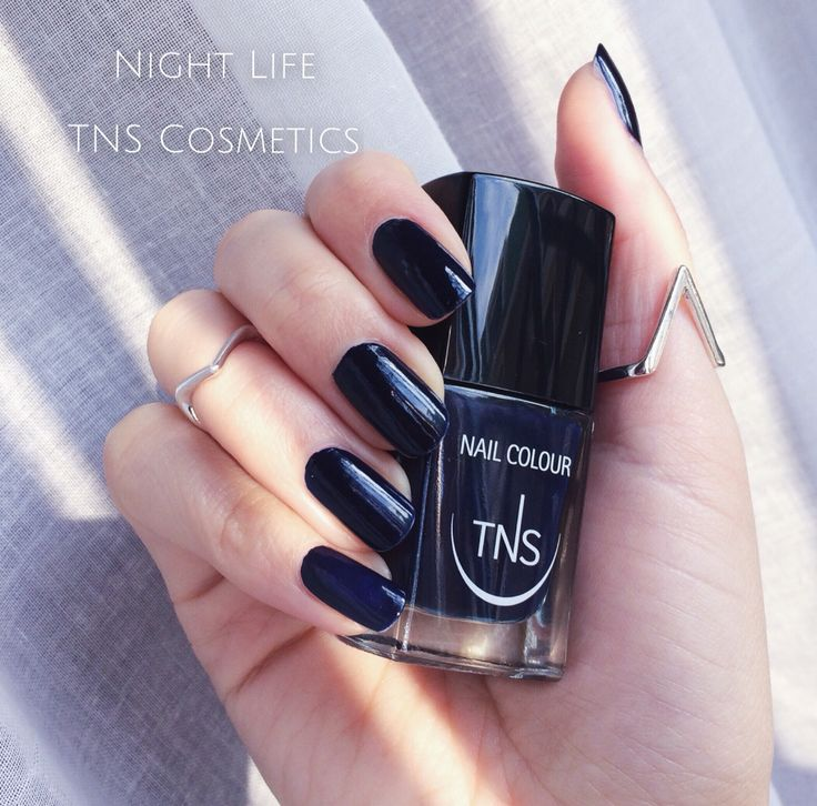 Night Life di TNS Cosmetics  #blue #nailpolish #nailtrend2015