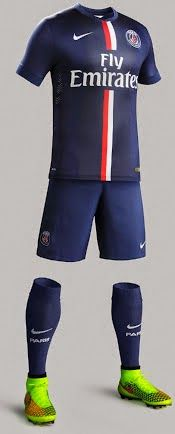 nike psg Domicile maillot de foot thailande bleu