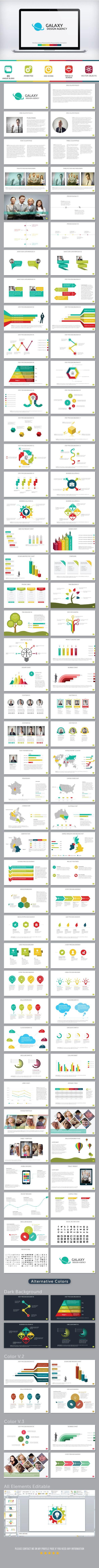 Galaxy PowerPoint Presentation Template