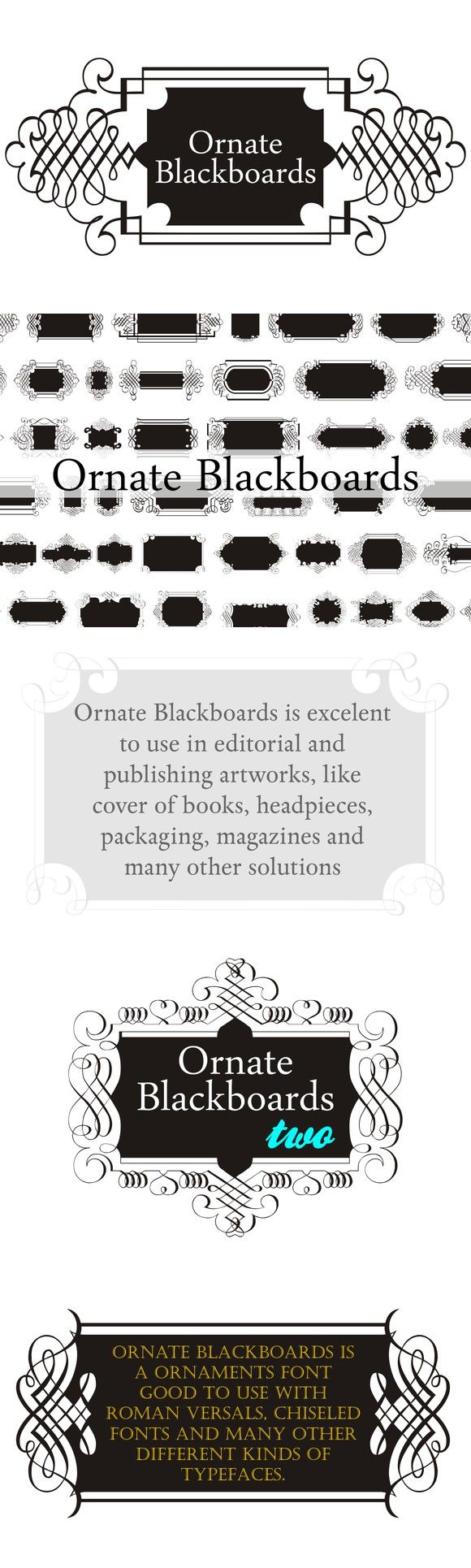 39 best symbol fonts images on pinterest fonts icons and script ornate blackboards pack symbol fonts 2600 biocorpaavc