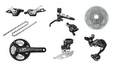 Shimano XT  Double Transmission Groupset