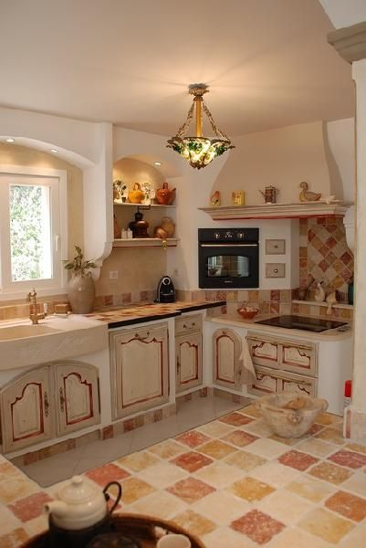 Cuisine proven ale roussillon cuisines meubles am nagement for Amenagement cuisine provencale