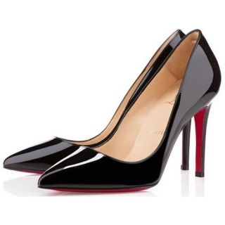 Christian Louboutin Pigalle Patent Point Toe Pumps Black : Christian  Louboutin shoes, christian louboutin us