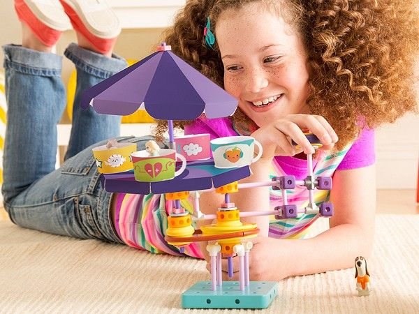 The engineering field needs more women, and GoldieBlox was created to develop girls' spatial skills, encourage hands-on problem solving, and inspire the next generation of engineers.
