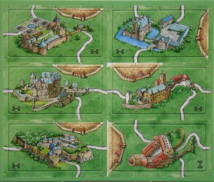 Carcassonne : The German Castles - Burgen in Deutschland Mini-Expansion | Toys & Hobbies, Games, Board & Traditional Games | eBay!