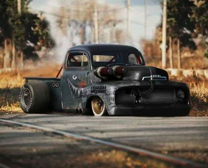 Afternoon Drive: Hot Rods & Rat Rods (32 Photos)  - A hot rod is a specific type of automobile that has been modified to produce more power for racing straight ahead. The hot rod originated in the early...