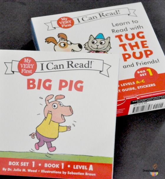 Beginning readers - these look like fun and you can buy them at Chapters