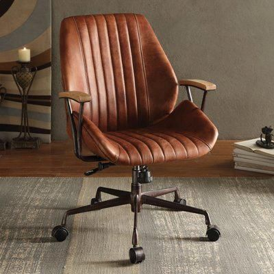 17 stories linch executive office chair color upholstery cocoa rh pinterest com