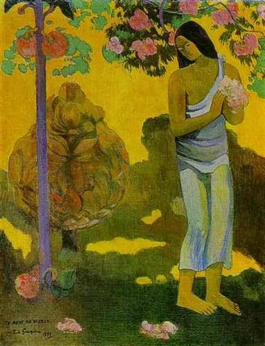 The month of Maria - Paul Gauguin, 1899