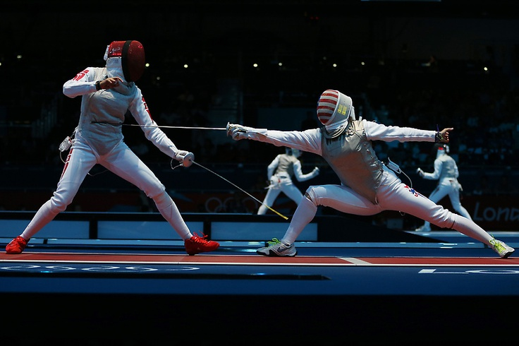 Photos: Fencing at the London 2012 Olympics, July 28