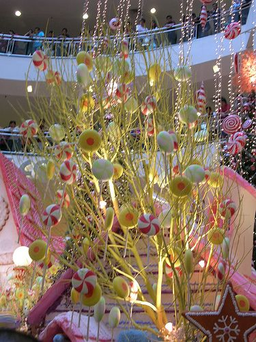 Candy tree decoration