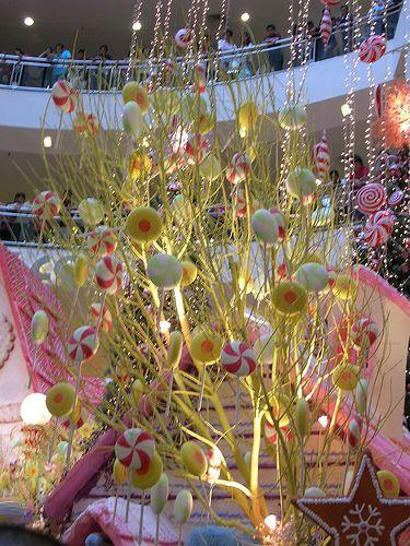 Candy tree decoration