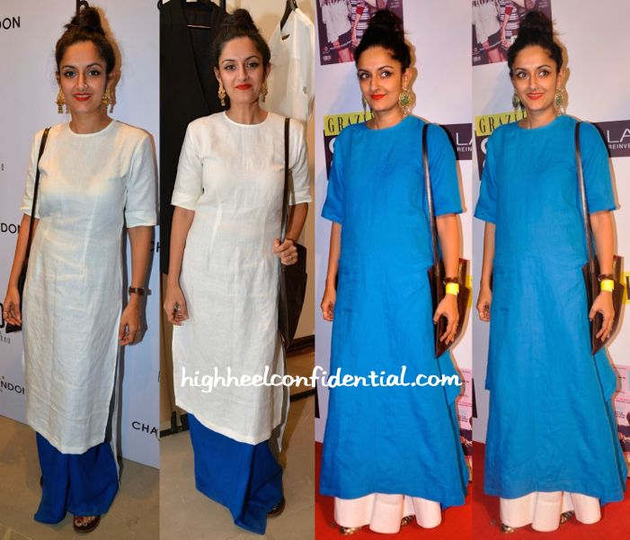 Payal Khandwala Wears Her Own To Behno Launch And To Grazia Cover Girl Hunt 2015