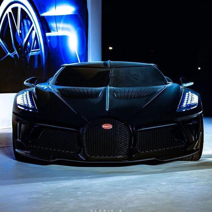 "Car Design World On Instagram: ""Bugatti La Voiture Noire"
