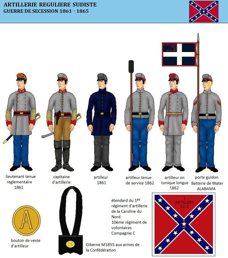 L'artillerie de la Confédération (1)