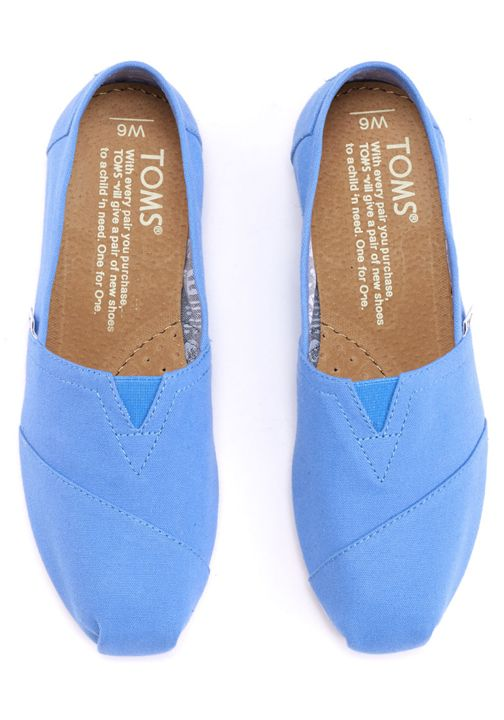 Enjoy your TOMS Classics with a feel-good pop of color. With their everyday