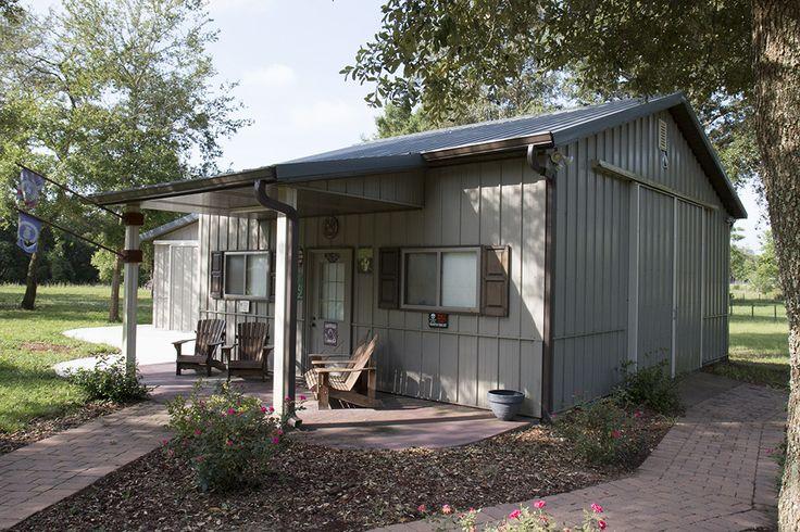 Morton buildings hobby building in clermont florida for Morton building cabin
