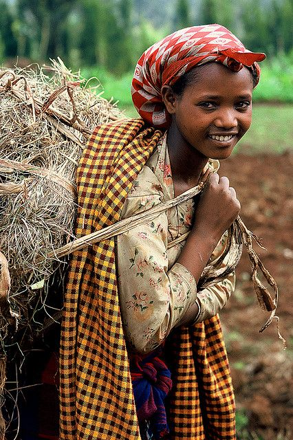 Repin if you believe women EVERYWHERE deserve to reach their higest potential!! (Photo: Dorze woman in Ethiopia.)