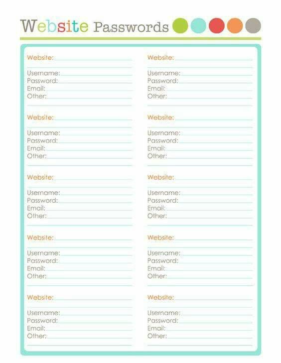 Best 20 Family/Info Binder ideas on Pinterest Free printables