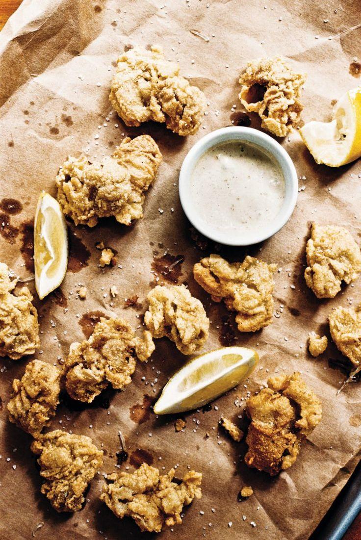 Fried Oysters recipe | Epicurious.com