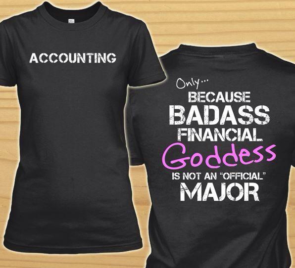 Accounting tshirt