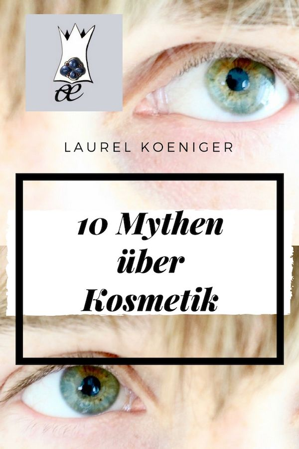 mythen über kosmetik
