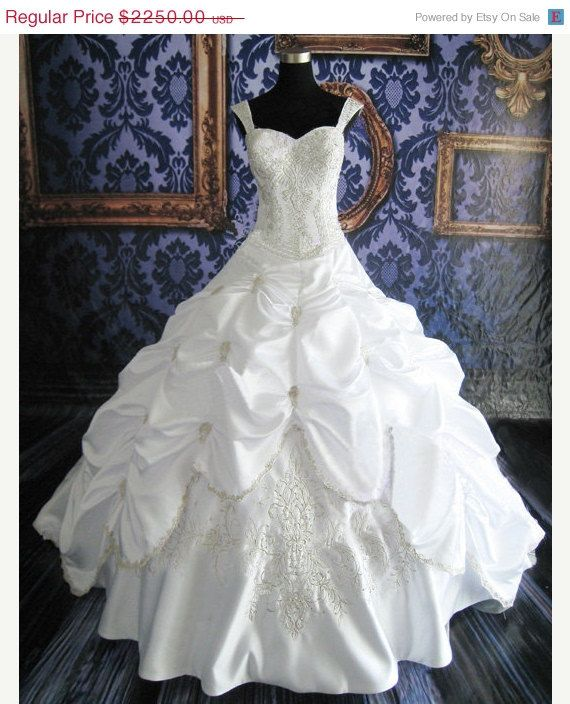 On Sale Custom Made Cinderella Ball Gown by MoonlitBridals on Etsy