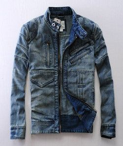 Diesel Men denim jacket | Raddest Men's Fashion Looks On The Internet: http://www.raddestlooks.org
