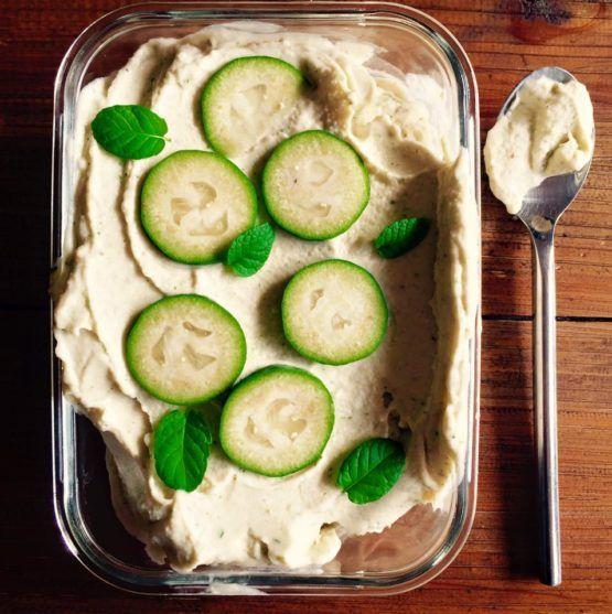 Instant Feijoa Ice Cream by Nadia Lim | NadiaLim.com