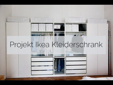 projekt ikea kleiderschrank youtube kleidertraum pinterest pax kleiderschrank 10 jahre. Black Bedroom Furniture Sets. Home Design Ideas