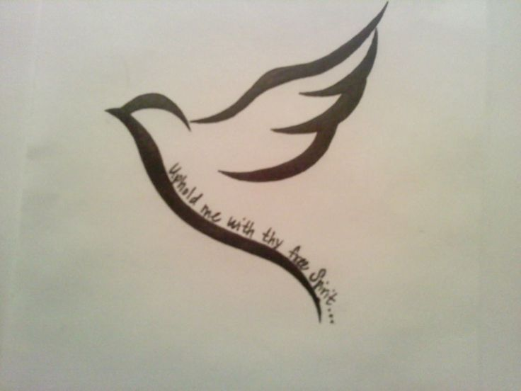 dove tattoo for my nana uphold me with thy free spirit tats pinterest tatoos tattoo. Black Bedroom Furniture Sets. Home Design Ideas