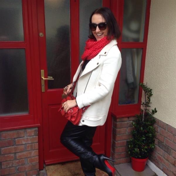 White Zara Jacket  by  Linda