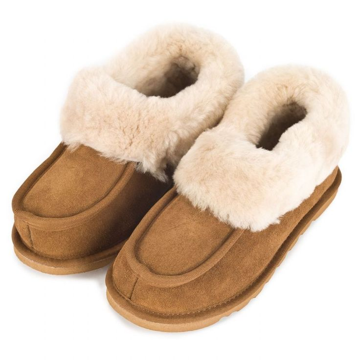 Gorgeous and luxurious cosy sheepskin wool lined slipper boots to keep your  toes warm and toasty