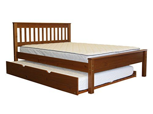 Bedz King Bed with Trundle Mission Style, Full, Expresso  http://www.furnituressale.com/bedz-king-bed-with-trundle-mission-style-full-expresso/