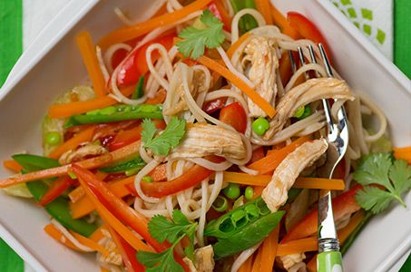 Healthy recipe: Chicken Noodles | Change4Life
