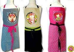 Tablier enfant coton Fifi Bastille - Tout pour la cuisine - CREA.64 Oloron Objet du quotidien, cadeau et décoration - Voir en grand