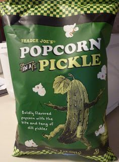 Trader Joe's Popcorn in a Pickle - New to this year (2015) and I regret only getting one bag because I didn't realize they were a limited time item for the Summer. *Crossing my fingers* that it'll be back next year. ~ <3 Michelle M
