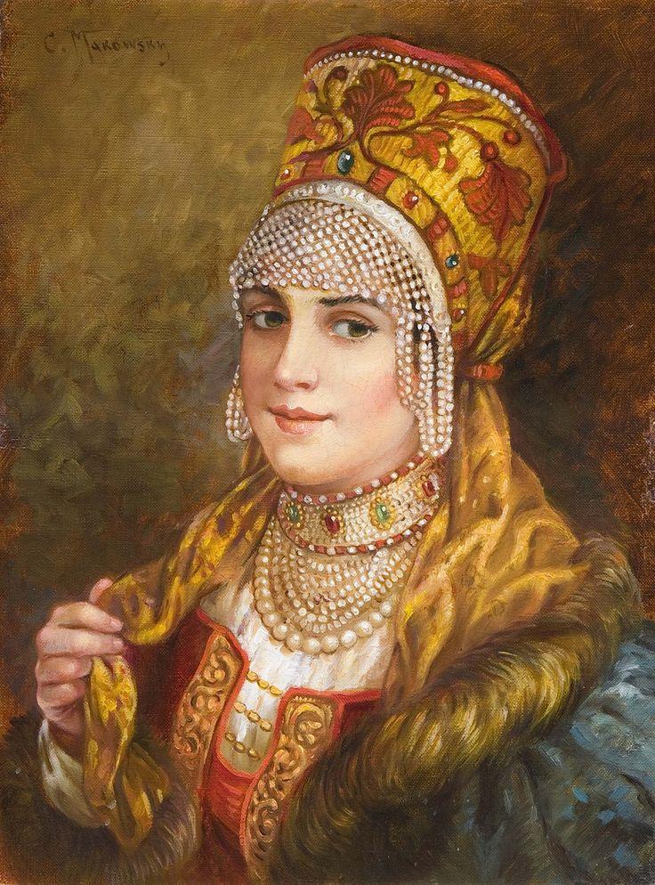 Portrait of a Girl (Konstantin Egorovich Makovsky)