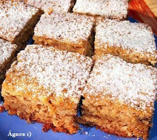 Ágnes:)  szakácskönyve: Egyszerű, gyors, kevert almás süti