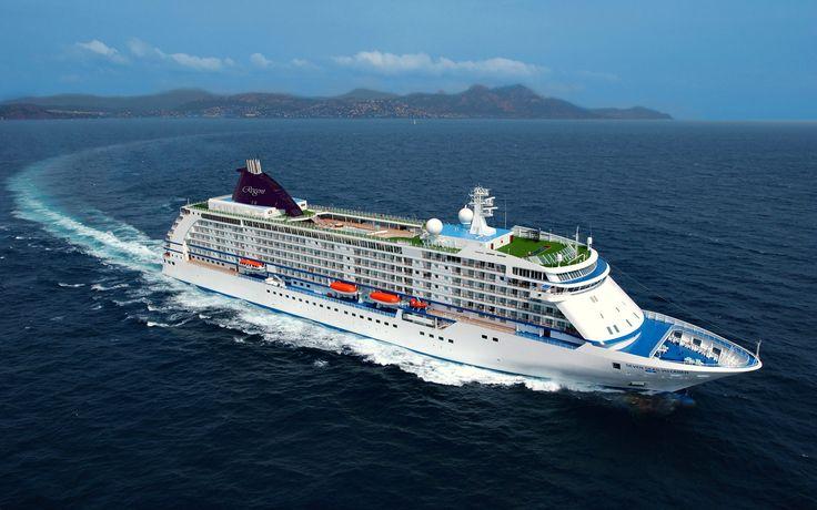 Regent Seven Seas Cruise Ship (Desktop Wallpapers)