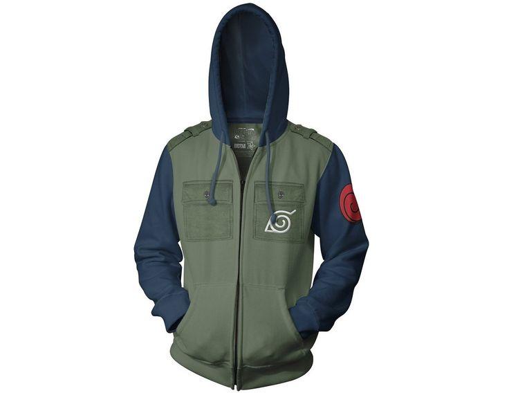 Naruto Shippuden - Sensei Kakashi Hoodie Jacket