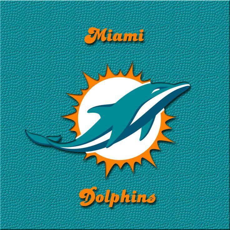 iPAD wallpaper New Miami Dolphins official logo. Miami